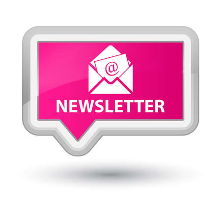 article marketing: Newsletter pink banner button