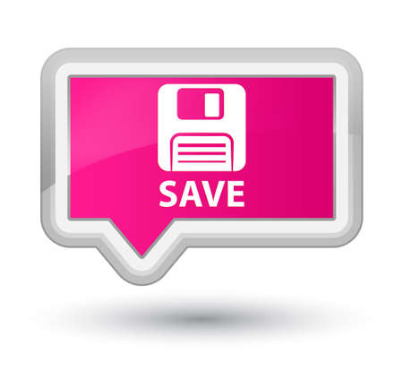 floppy disk: Save (floppy disk icon) pink banner button