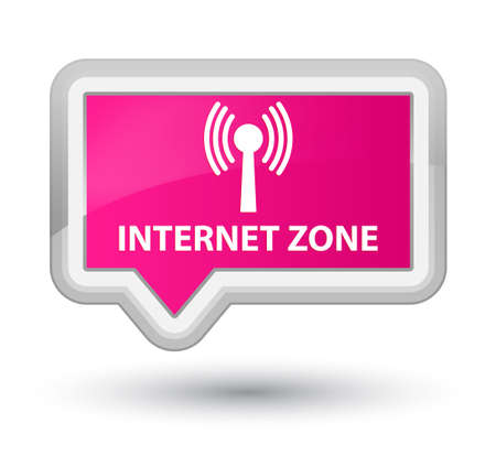 wlan: Internet zone (wlan network) pink banner button