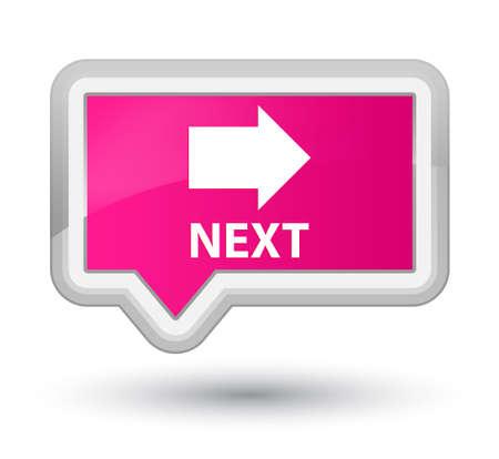 go forward: Next pink banner button