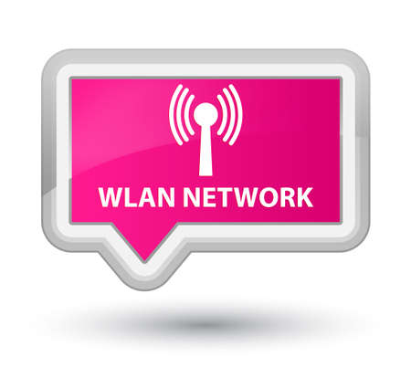 wlan: Wlan network pink banner button