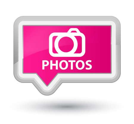 digital slr: Photos (camera icon) pink banner button