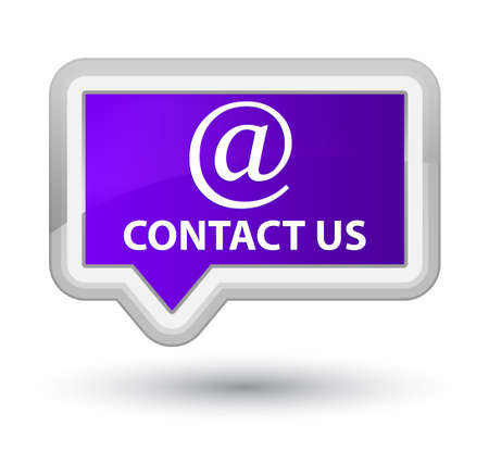 email address: Contact us (email address icon) purple banner button