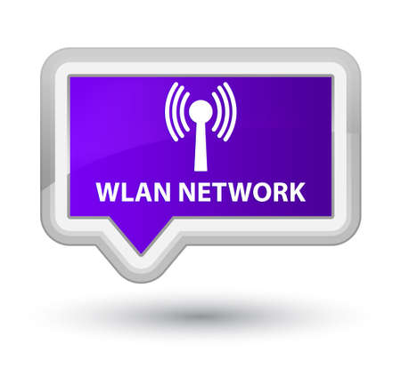 wlan: Wlan network purple banner button