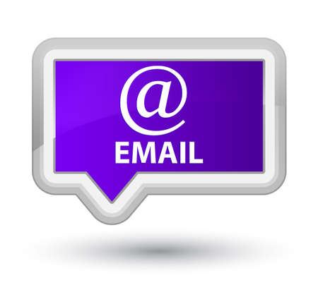 email address: Email (address icon) purple banner button