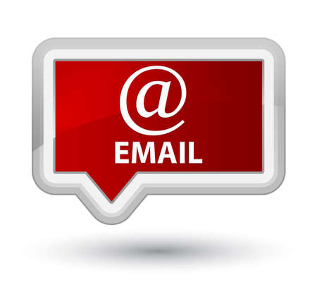 email address: Email (address icon) red banner button