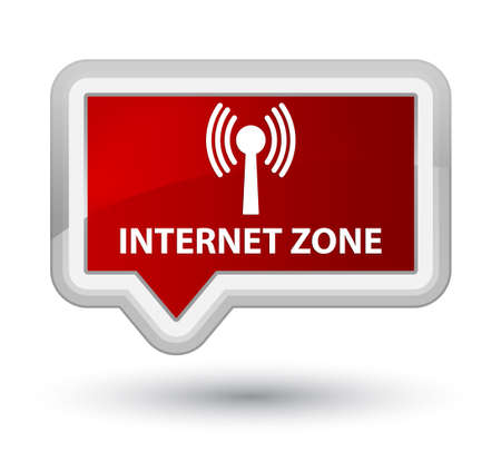 wlan: Internet zone (wlan network) red banner button