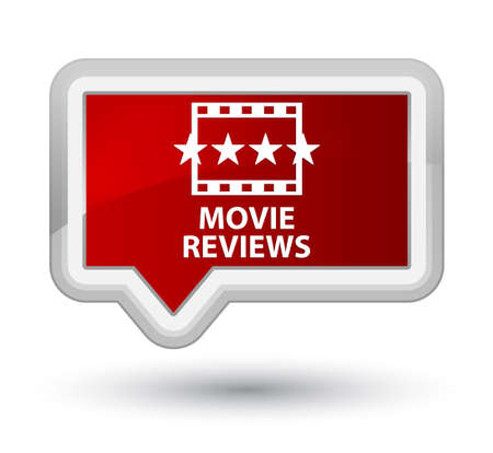 reviews: Movie reviews red banner button