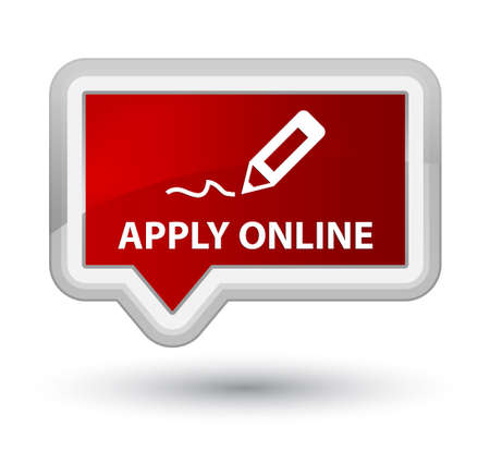 registry: Apply online (edit pen icon) red banner button