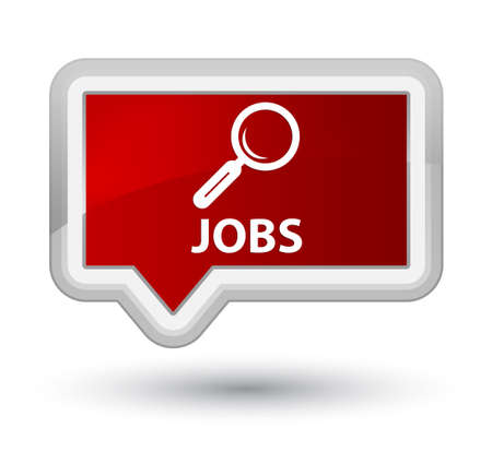 opportunity discovery: Jobs red banner button