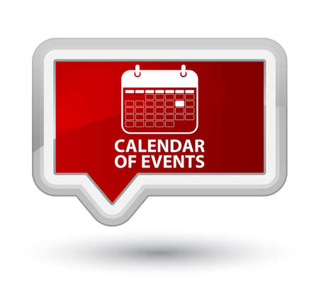 appointments: Calendar of events red banner button
