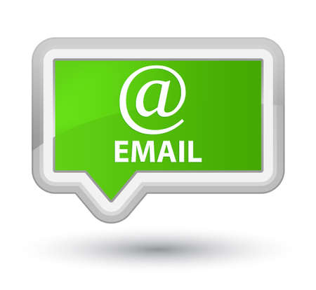 email address: Email (address icon) soft green banner button