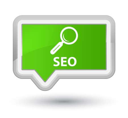 Seo soft green banner button