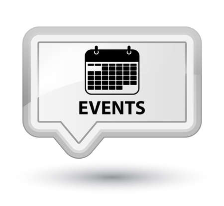 appointments: Events (calendar icon) white banner button