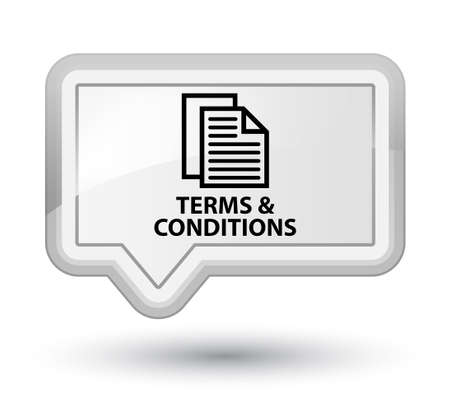 conditions: Terms and conditions (pages icon) white banner button