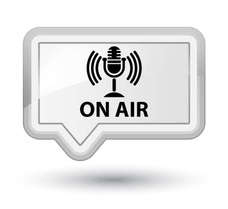 voices: On air (mic icon) white banner button