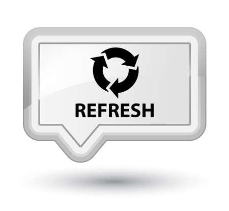 refresh: Refresh white banner button