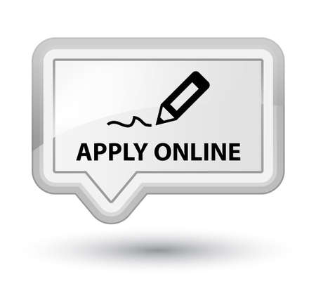 registry: Apply online (edit pen icon) white banner button