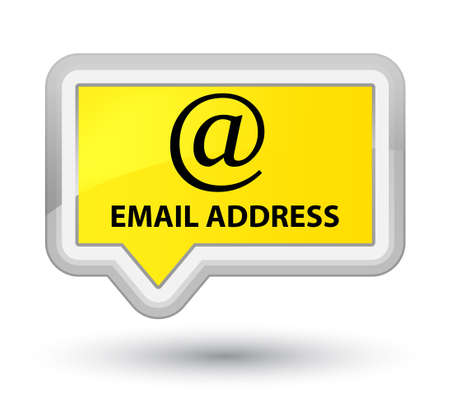 email address: Email address yellow banner button