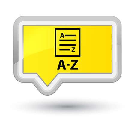 az: A-Z (list page icon) yellow banner button