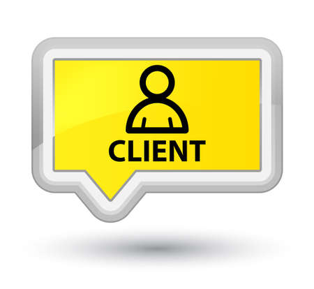 Client (member icon) yellow banner button