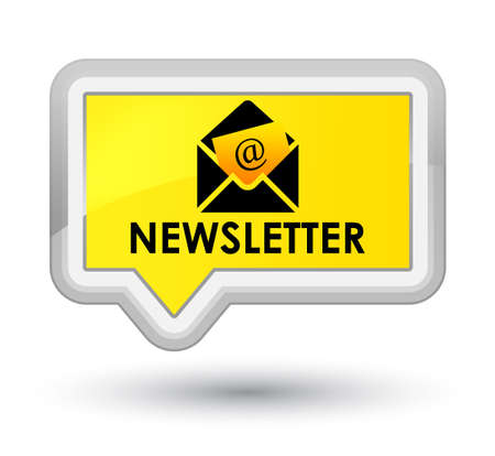 Newsletter yellow banner button