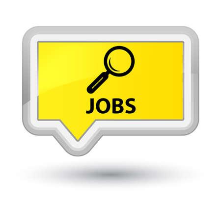 Jobs yellow banner button
