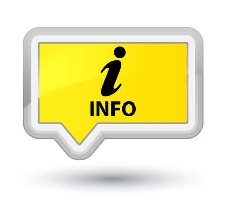 inquiry: Info yellow banner button