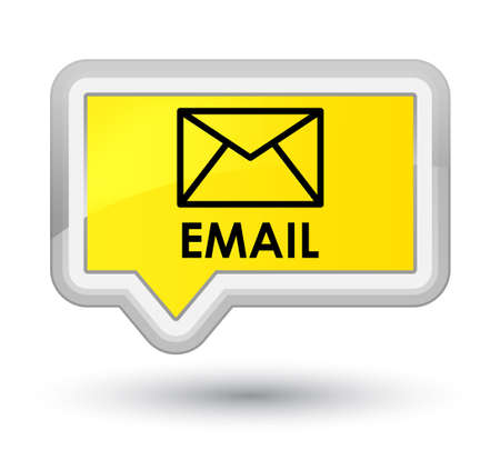Email yellow banner button
