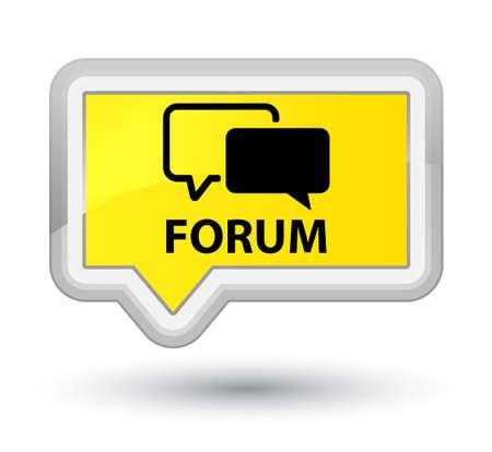 menace: Forum yellow banner button