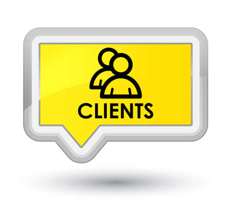Clients (group icon) yellow banner button