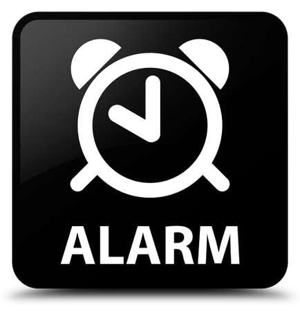 square button: Alarm black square button