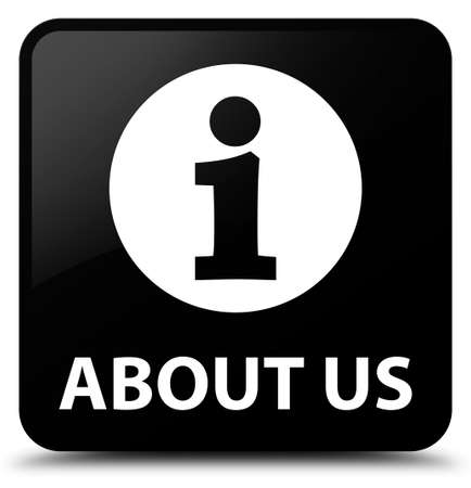 about us: About us black square button