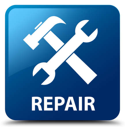 preference: Repair (tools icon) blue square button