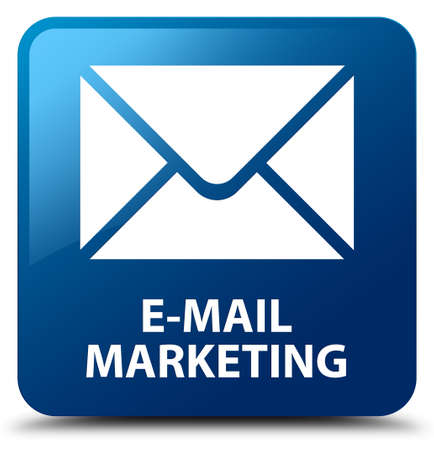 flysheet: E-mail marketing blue square button