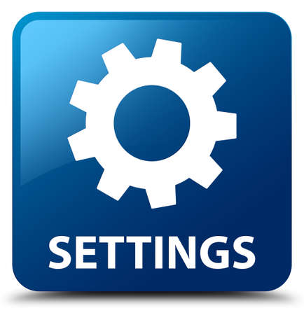 preference: Settings blue square button
