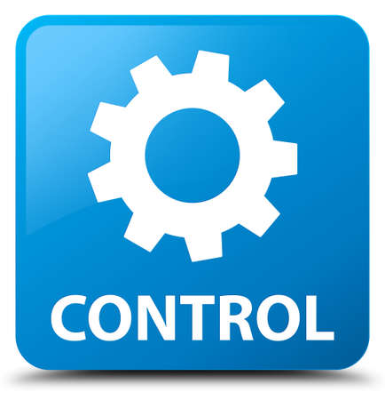 preference: Control (settings icon) cyan blue square button