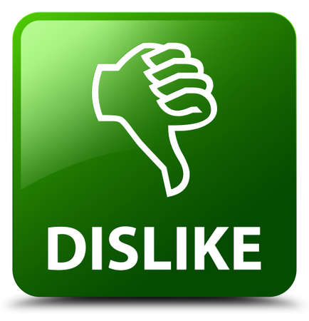 disapprove: Dislike green square button