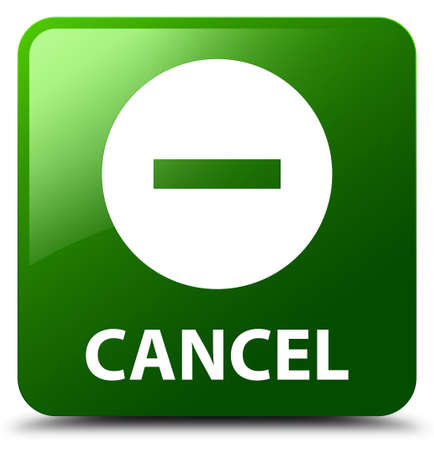 disagree: Cancel green square button