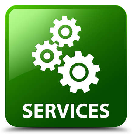 preference: Services (gears icon) green square button