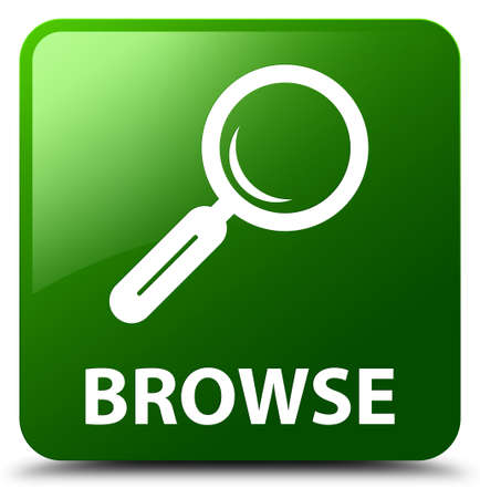 browse: Browse green square button