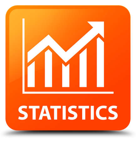 square button: Statistics orange square button