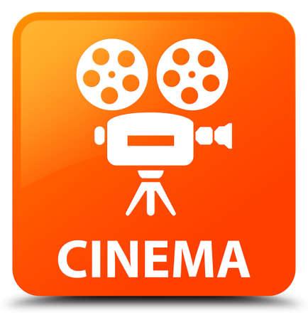 capturing: Cinema (video camera icon) orange square button