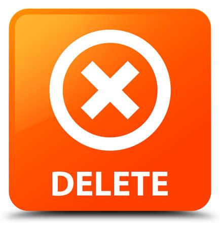 disagree: Delete orange square button