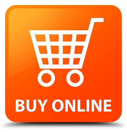 Buy online orange square button
