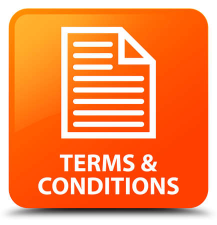 conditions: Terms and conditions (page icon) orange square button