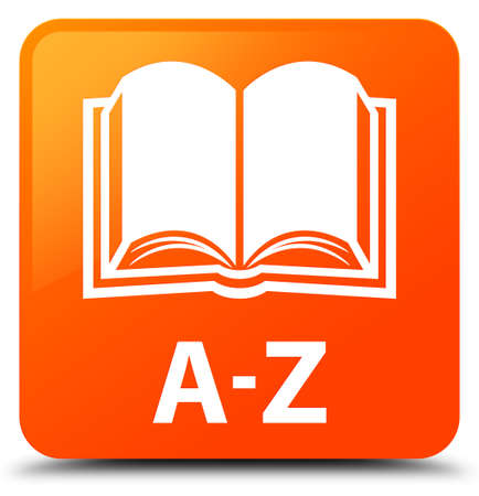 A-Z (book icon) orange square button