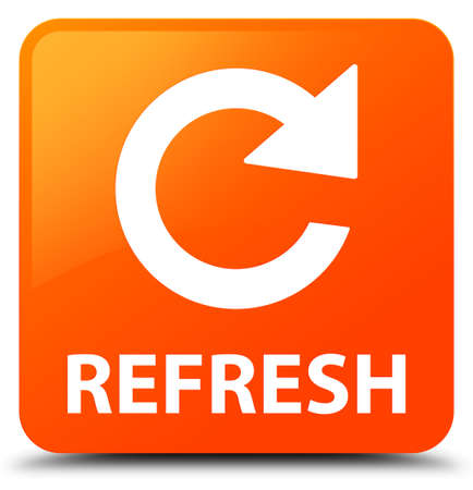 Refresh (rotate arrow icon) orange square button