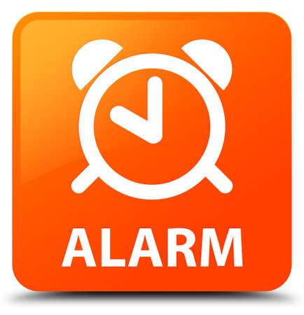 Alarm orange square button