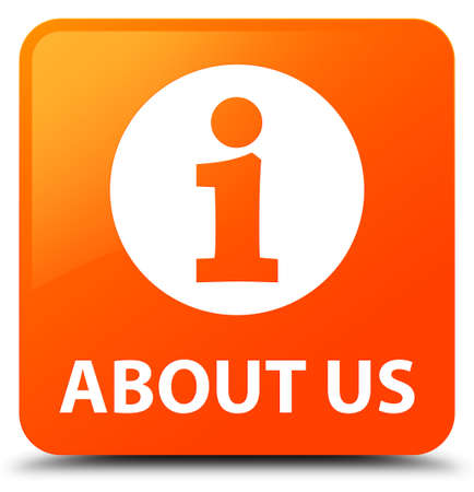 about us: About us orange square button